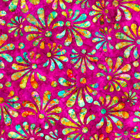 RADIANCE Stylized Floral Fuchsia 27097 P