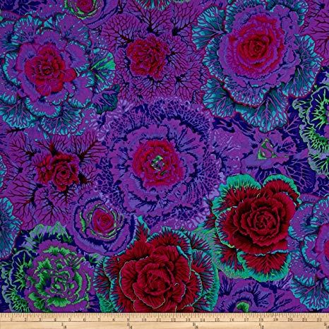 Kaffe Fassett Collective  - Brassica - Purple - PWPJO51.PURPLE