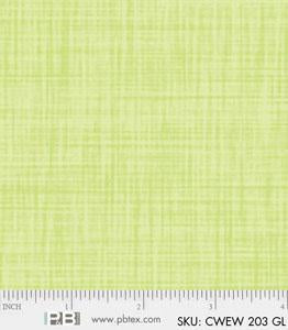 Backing Fabric - Colourweave - Light Green - PB203GL