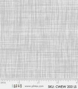 Backing Fabric - Colourweave - Light Silver - PB203LS