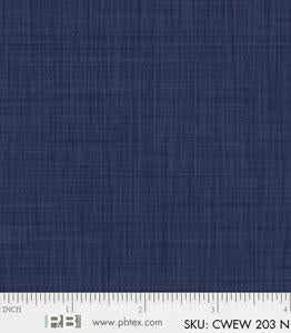 Backing Fabric - Colourweave - Navy - PB203N