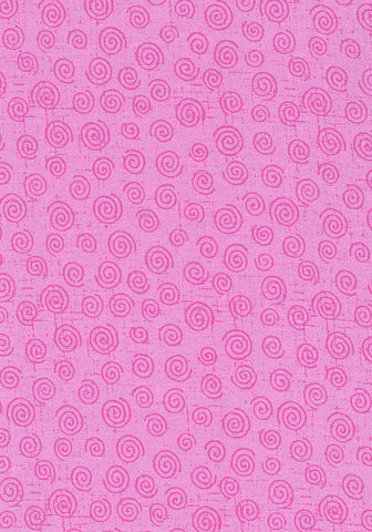 Backing Fabric - Twister - Pink - 9074PI
