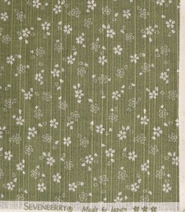 Dobby Cloth - Cherry blossom - Green - 88235
