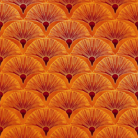 Leesa Chandler - Melba - Fan - Orange - 0005 3