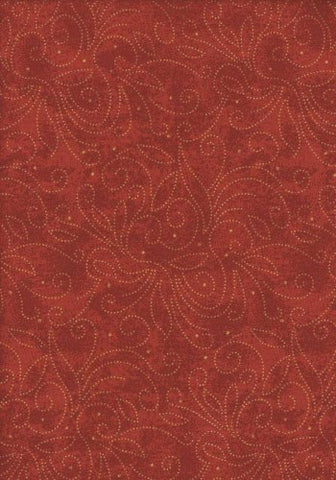 Backing Fabric - Marble Scroll - Red - K1002R