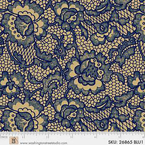 Backing Fabric -Kings Blue -26865BLU