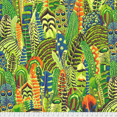 Kaffe Fassett Collective  - Feathers - Lime - PWPJ055.Lime