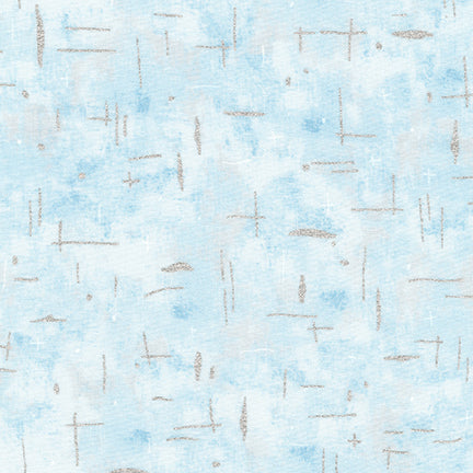 Robert Kaufman - Sound of the Woods - Winter - Blue/Silver - AWJM-16874-277