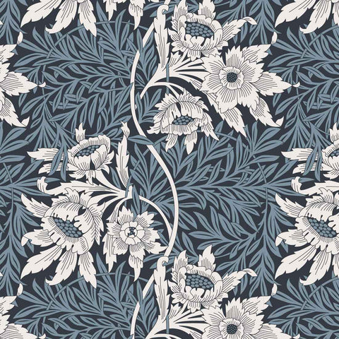 William Morris Tulip and Willow Blue Nights 2681-3