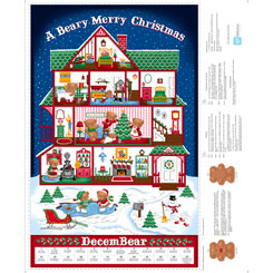 Sew N Go VIII Merry Beary Panel 27255X