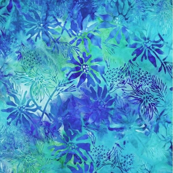 Batik -Summer Collection 2018 DY-8-9660 Bluegreen Multi