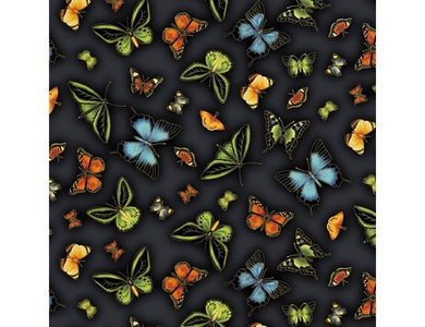 Leesa Chandler - Under the Australian Sun - Butterflies Black - 0025 13
