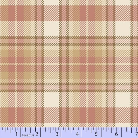 Primo Plaid Flannel Chalk and Timber R09-U021-0126