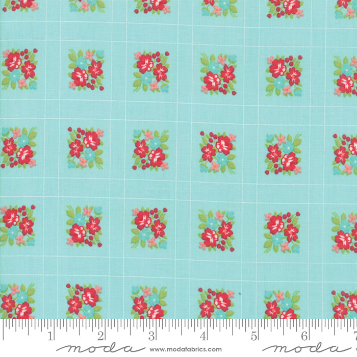 Little Snippets Forget me not Aqua - 55187 12