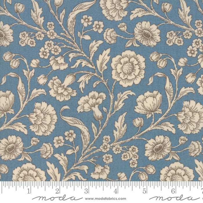 Moda Vive La France - Woad - Amboise Light Blue - 13830 21