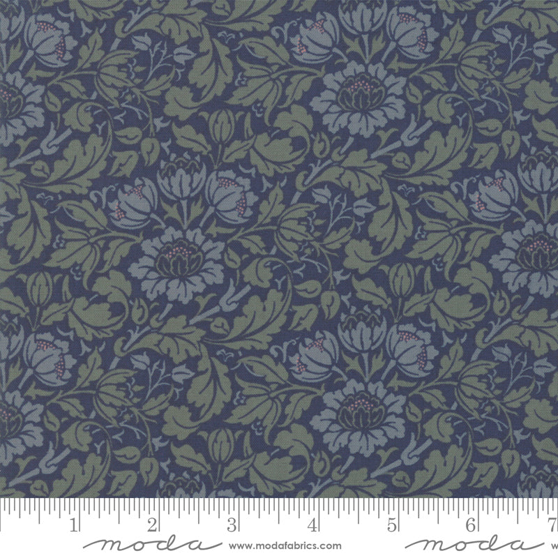 Best of Morris Fall Indigo 33492-25