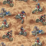 Motorcross allover beige 86470 101
