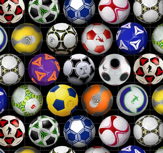 Sports - Soccer balls 276 Black