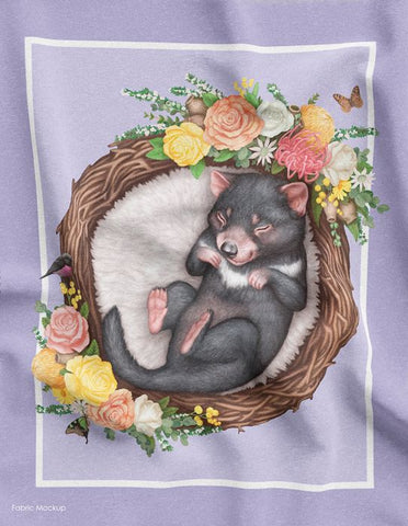 Native Nursery DV 3685 Panel Tasmanian Devil