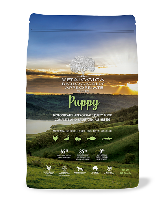 Vetalogica Biologically Appropriate Puppy Food