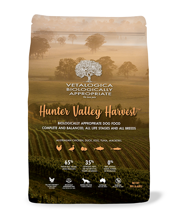 Vetalogica Biologically Appropriate Hunter Valley Harvest Dog Food