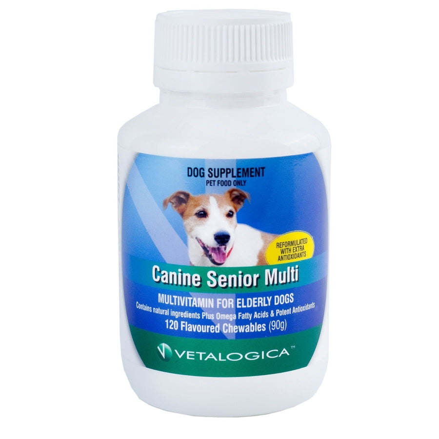 Canine Senior Multi For Dogs 120 chews
