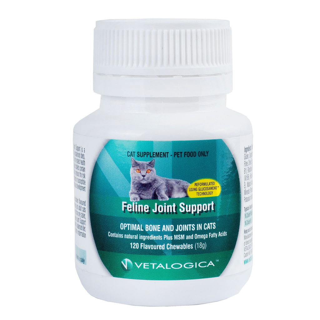Feline Joint Support For Cats 120 chews