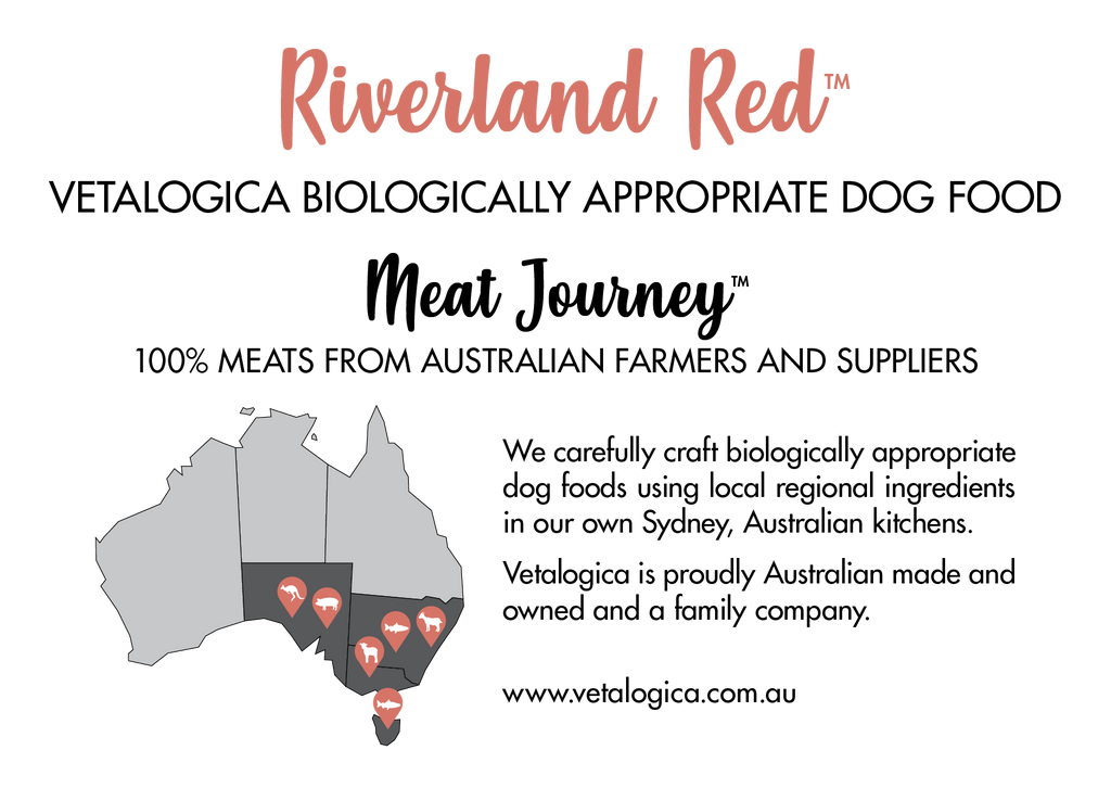 Vetalogica Biologically Appropriate Riverland Red Dog Food