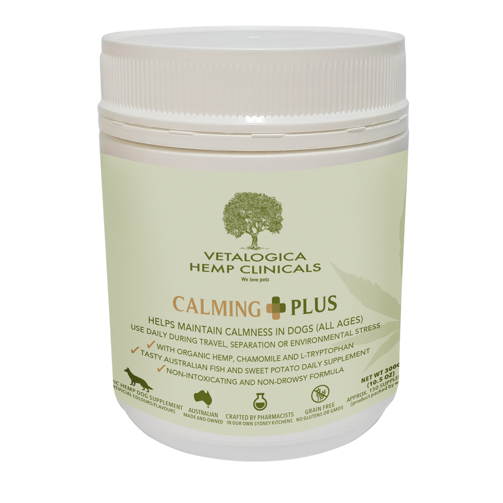 Vetalogica Hemp Clinicals Calming Plus Supplements for Dogs 300g
