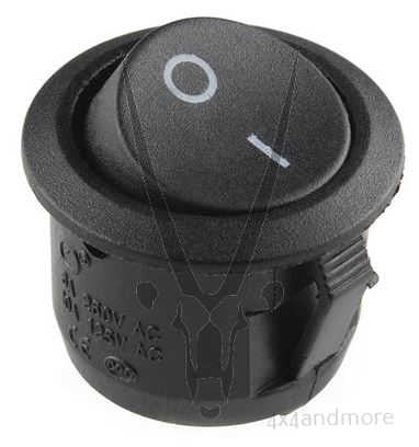 Round rocker switch - 4x4 And More