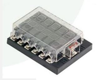 12 Way Fuse holder without LED - 4x4 And More