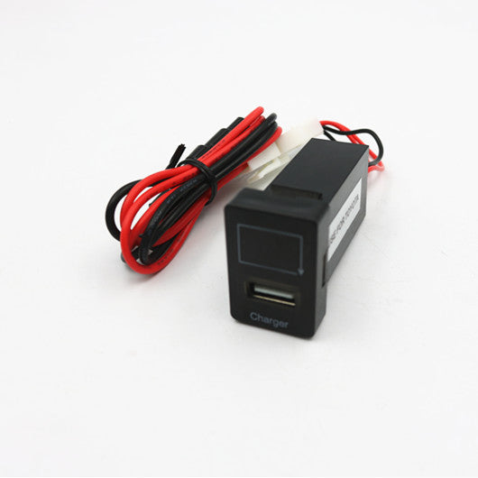 Single USB with Voltmeter - 4x4 And More