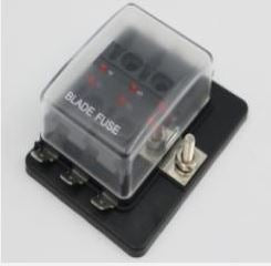 6 Way Fuse holder with LED - 4x4 And More