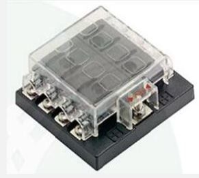 8 Way Fuse holder without LED - 4x4 And More