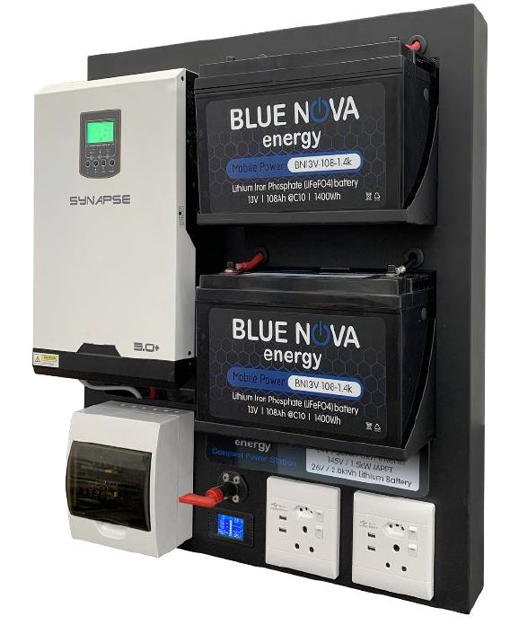 BlueNova CPS 3000 – 2.8kWh Compact Power System - 4x4 And More