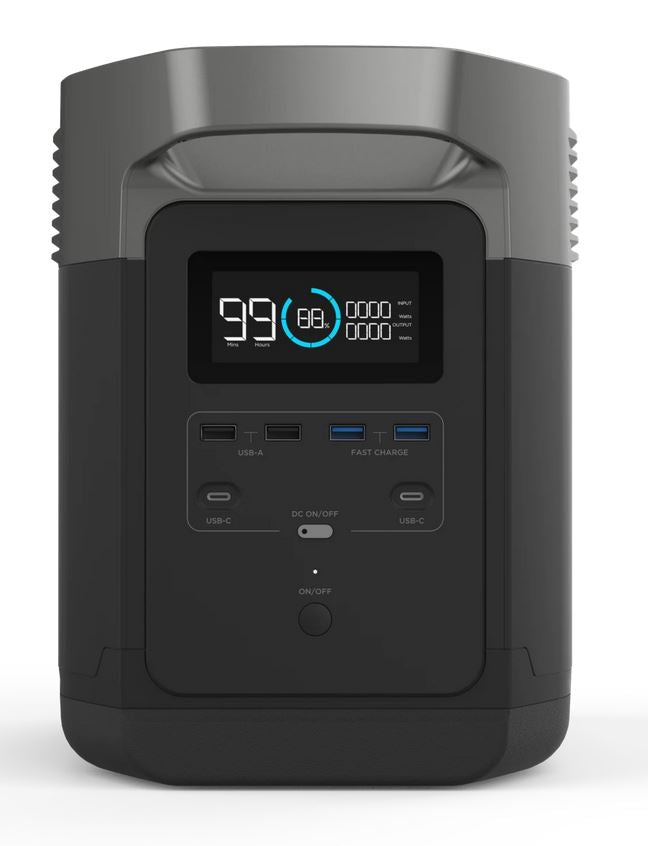 ECOFLOW DELTA 1300 - UPS PORTABLE POWER STATION - 4x4 And More