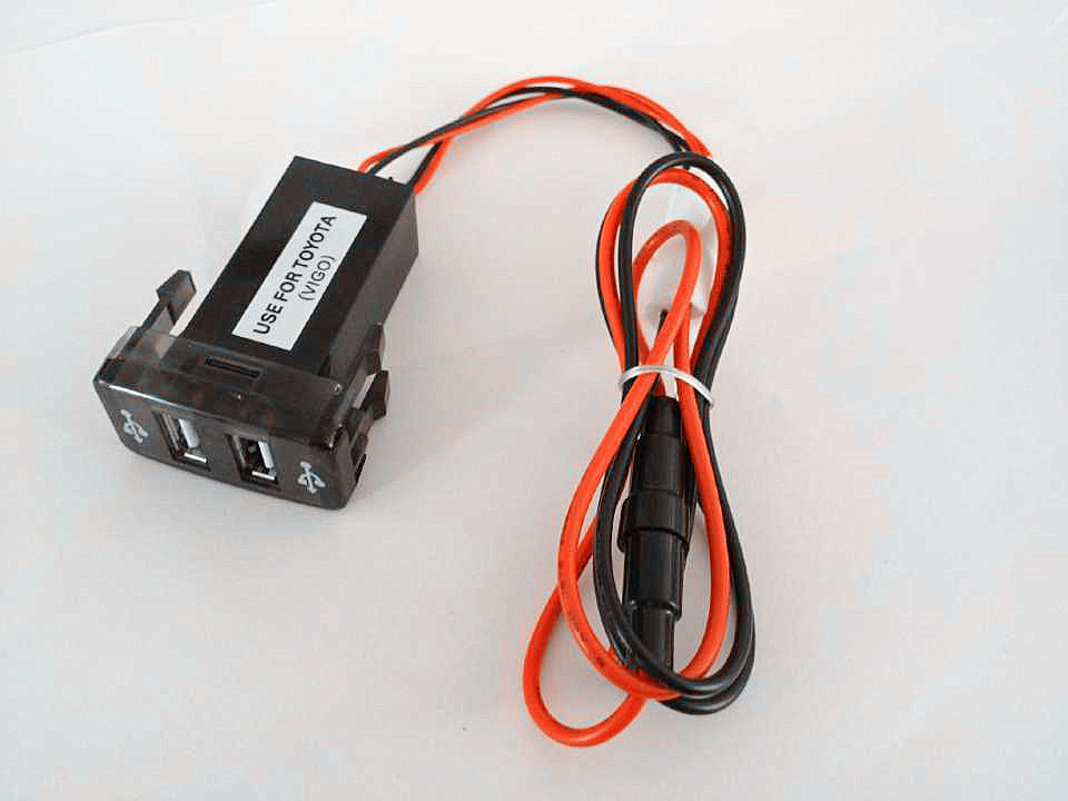 Dual USB charging port - Toyota Hilux / Prado / Revo - 4x4 And More