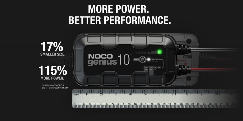 NOCO Genius 10 Charger - 4x4 And More