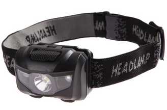 3W 80 Lumen Lightweight LED Headlamp - 4x4 And More