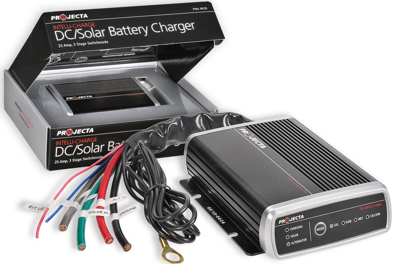 Projecta 25 AMP DC2DC Charger with MPPT Solar Charge Controller - 4x4 And More