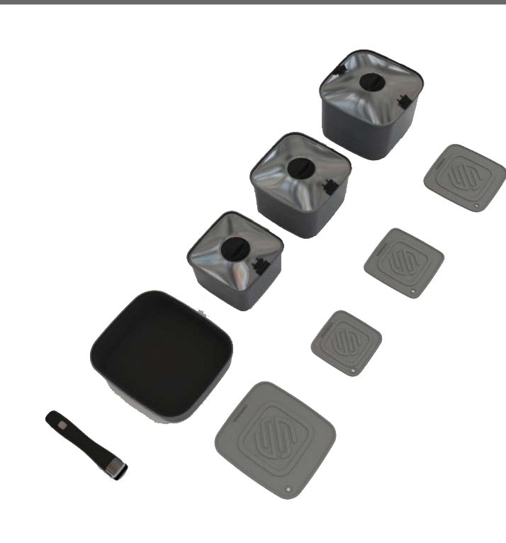 SmartSpace 10 Piece Potset - 4x4 And More