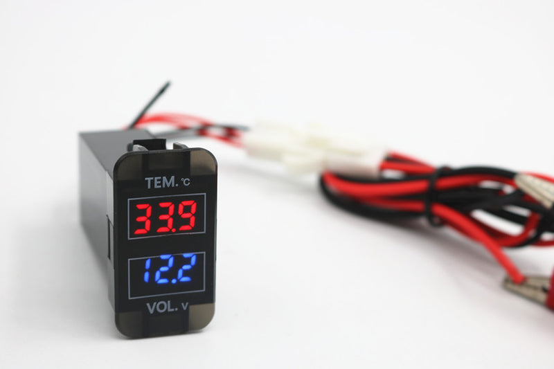 Temperature and Voltmeter for Vigo Hilux - 4x4 And More