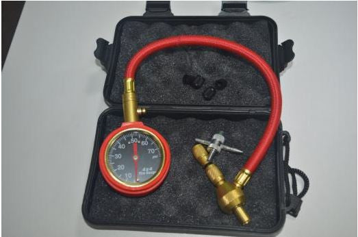 Rapid Tyre Deflator with Gauge - 4x4 And More