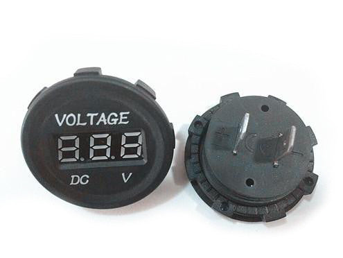 Voltmeter  - Round - 4x4 And More