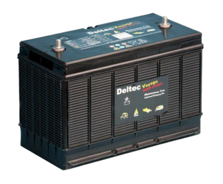 Deltec 105Ah Semi Deep Cycle BD-N105-LFS Battery  LOW STOCK Check with us first - 4x4 And More