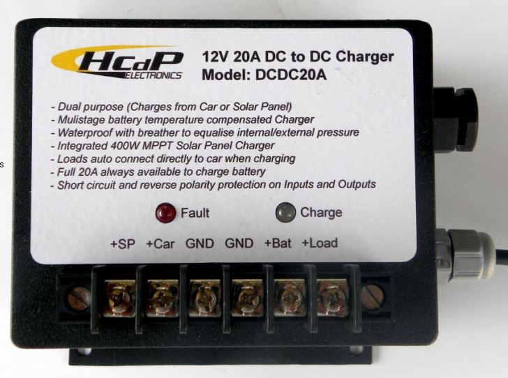 20 Amp Dual Purpose DC to DC charger with MPPT - 4x4andmore