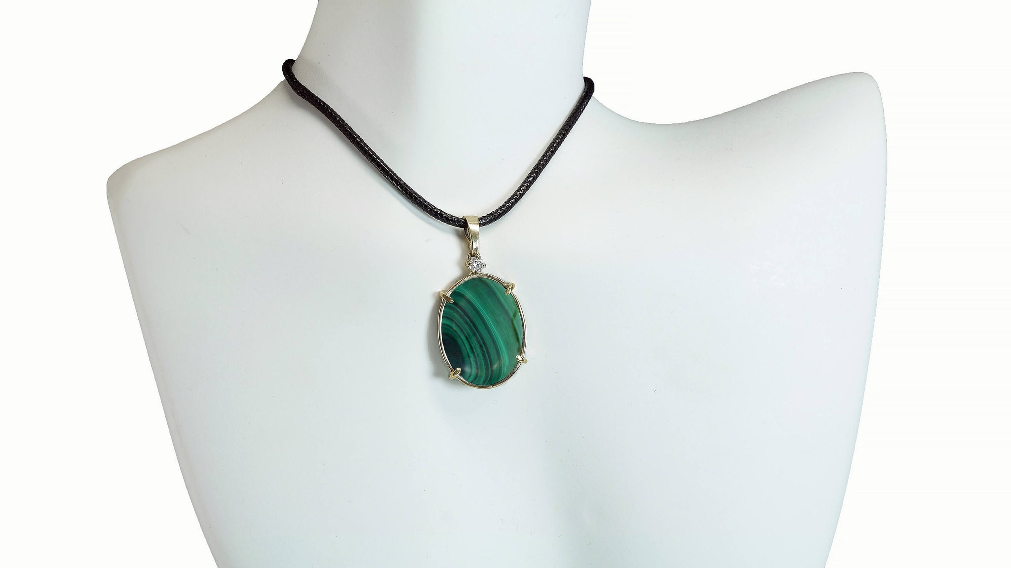 Inspiration bohemian necklace-Malachite necklace-One of a Kind Gifts-Malachite cameo-Birthday gift