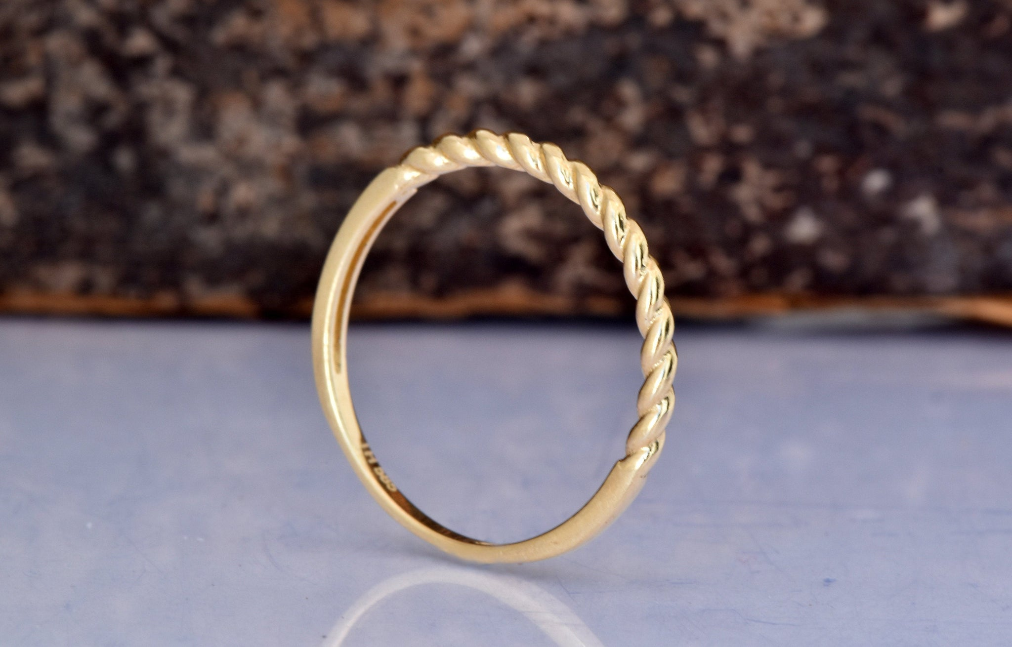 Delicate Wedding Bands for Women-Cluster Wedding band-Gold Diamond Ring-Gold Ring-Eternity wedding band