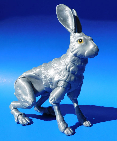 """6dbf0f10255e ... """"Rapunzel Silver""""   CPE HG100 """"Morning Sun Transparent"""" ▷ Printed by   Louise Driggers ▷ Design  The Fabled Hare by Louise Driggers on Thingiverse"""
