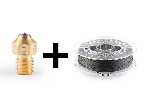Dexdo Rubin Nozzle REDX | 0.60 mm + Spool 1.75 mm